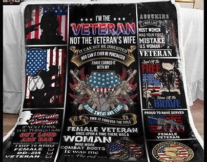 Veteran Blanket by 90 LoveHome on Behance