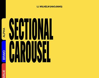 SECTIONAL CAROUSEL