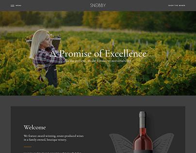 Wine Ecommerce Website