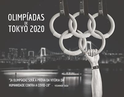 Arte desenvolvida em homenagem às Olimpíadas de Tokyo
