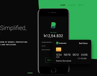 Landing Page Design | Online Payment Gateway