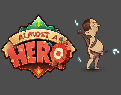 Character animation for Almost a Hero game