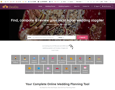 desido Find, compare & review your local Asian wedding