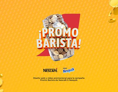 Nescafé Promo Barista