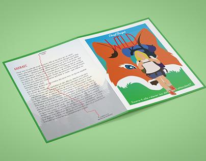 Brochure promotion d'un livre