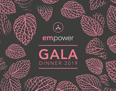 EMpower Gala Dinner   Event Design