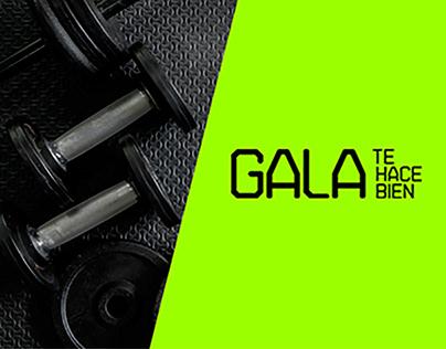 Design Social Media: GALA GYM