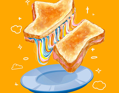 Cosmic Grilled Cheese
