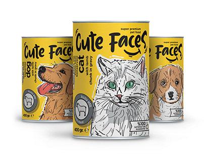 cute faces // packaging