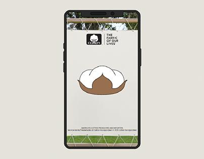 Cotton Snapchat Social Ads