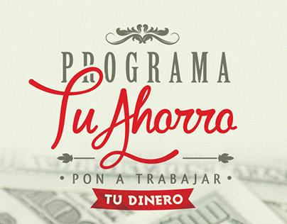 Mutualista Pichincha - Programa Tu Ahorro