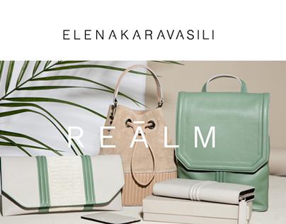 Elena Karavasili e-shop look and feel