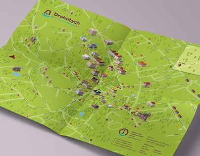 Туристична карта Дрогобича
