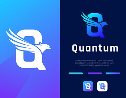 Q Letter logo | Eagle logo | Letter |Logo Folio | 2021