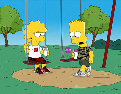 The Simpson x Dirty Sprite