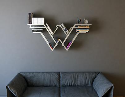 Iron Wonder Woman 3, shelf, interrior, design, book