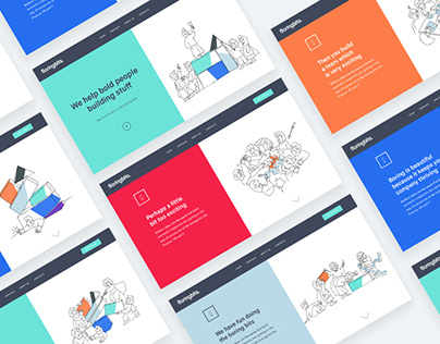 Boring Bits — branding, web