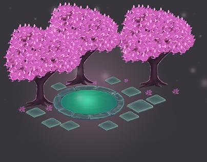Isometric Pool-Tree