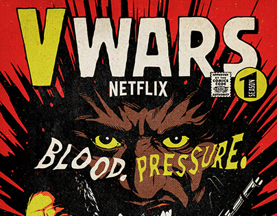Netflx's V WARS | Season 1 Exclusive Poster Artwork