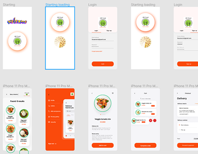 QR food Ordering web apps