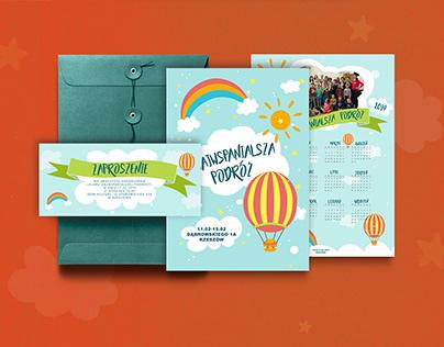 Najwspanialsza Podróż 19-zaproszenie, kalendarz, plakat