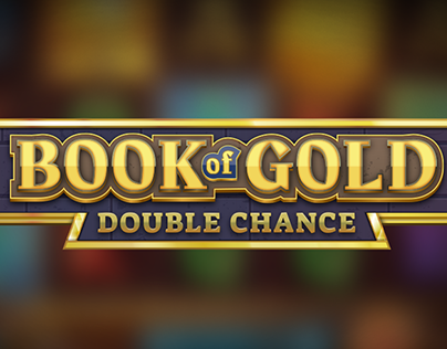 Book of Gold: Double Chance Game Logo