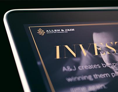 Allen & Jain websiite