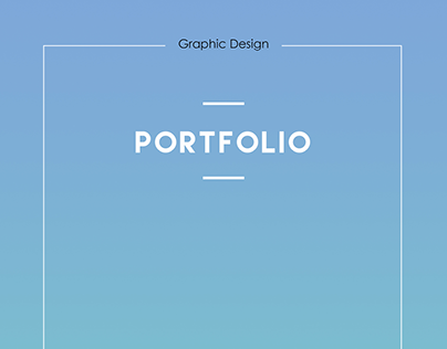 Portfolio- Graphic Design