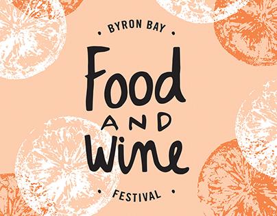 Byron Bay Food & Wine Festival Poster