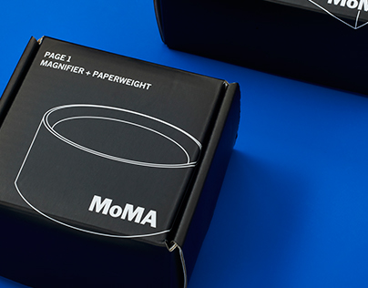 MoMA PACKAGING AND PRODUCT