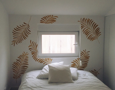 Wall paint / airbnb house