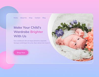 Glass Morphism Website