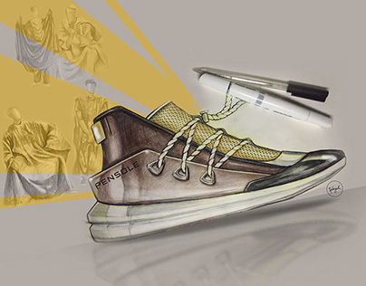 MY ENTRIES FOR PENSOLE FOOTWEAR DESIGN CHALLENGE