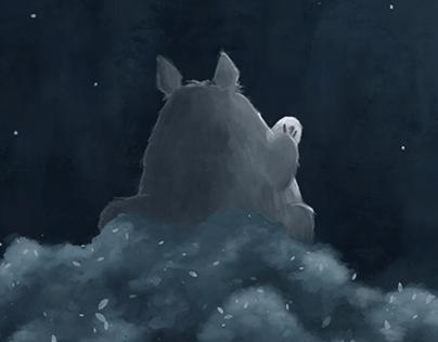 Totoro Animated