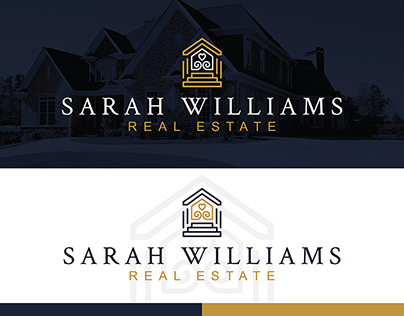 Sarah Williams Premade Real Estate Logo Design