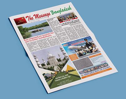 The Message Bangladesh- Newspaper