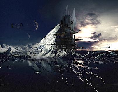 Ice Age in Adobe Dimension (Learning Digital Arts)