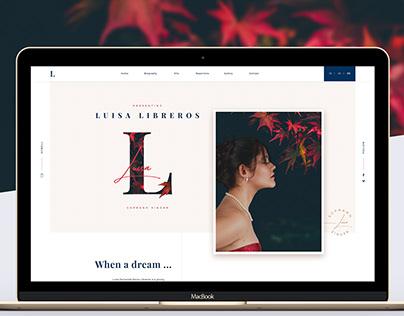 Soprano Singer - Luisa Libreros