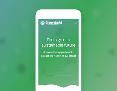 GreenLight Biosciences - Site Design