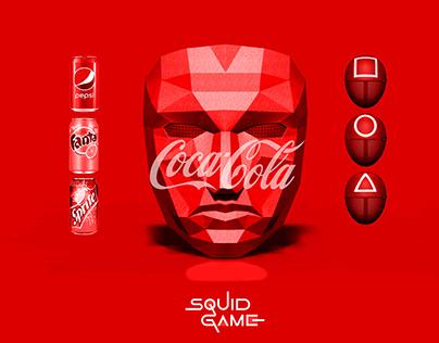 SQUID GAME X COCA COLA