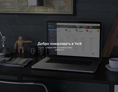 "UI/UX CRM-системы ""York"""