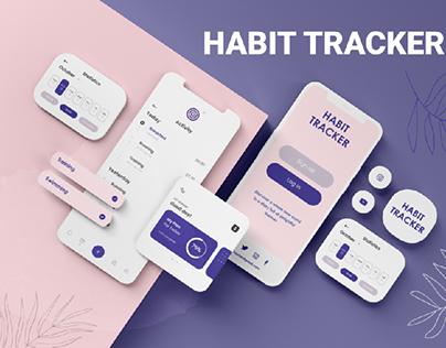App Design   Habit Tracker