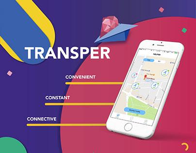Transper - A mobile app for university student