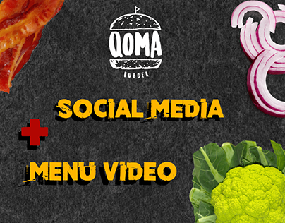 QOMA - Social Media + Menu Vídeo