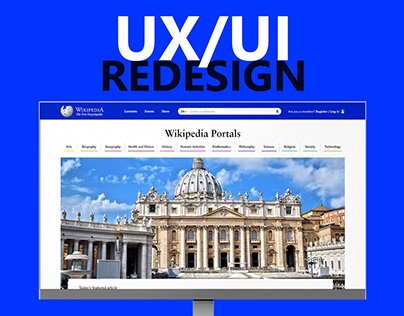 UX | UI - Wikipedia Redesign Proposal