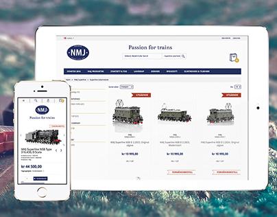 NMJ – Norsk Modelljernbane - Online store