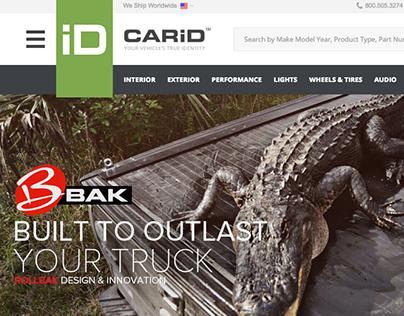 CARiD Online Store (UI/UX/Web design)