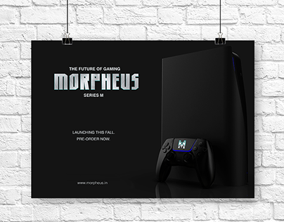 The complete branding solution for a game console brand
