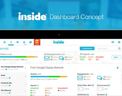 INSIDE Dashboard Concept