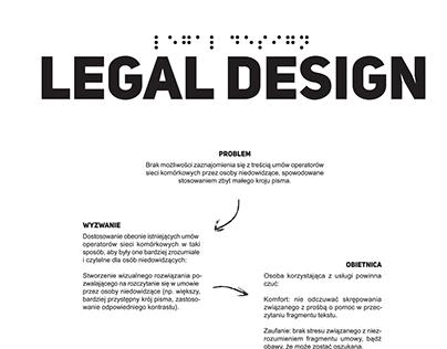 Zmiana przez design. Legal design 2.0